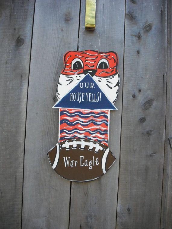 25 Best Ideas About Football Door Hangers On Pinterest