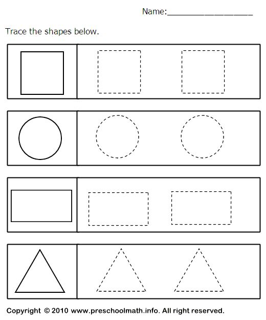 best 25 shapes worksheets ideas on pinterest shapes worksheet preschool tracing shapes and. Black Bedroom Furniture Sets. Home Design Ideas