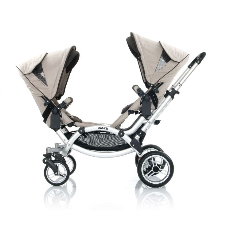 I love this stroller! Although I bought the Baby Jogger City GT because I saw it more practical to move on any kind of surface, and I'm traveling a lot. ABC-Design - Zoom Twin Pram Beige, $1,295.00 (http://www.abc-design.com.au/products/zoom-twin-pram-beige.html)