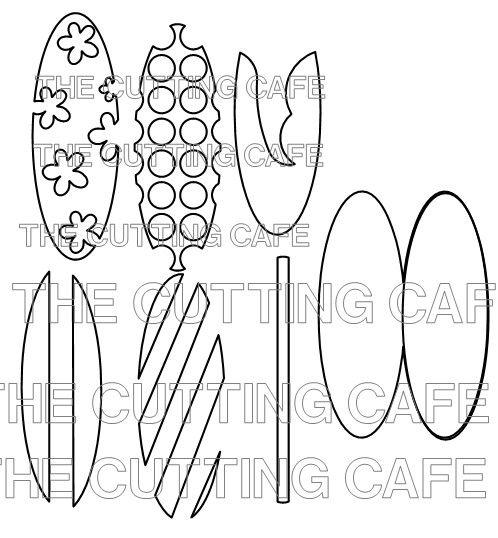 Surfboard patterns