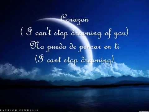 Lyrics dreaming of you