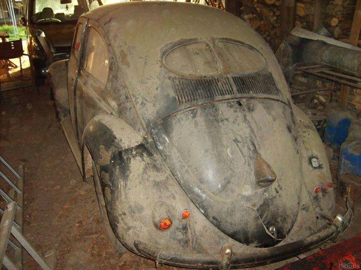 Barn Find Cars >> Split Window VW Barn Find   Cars   Pinterest   Barn finds, Vw and Beetles