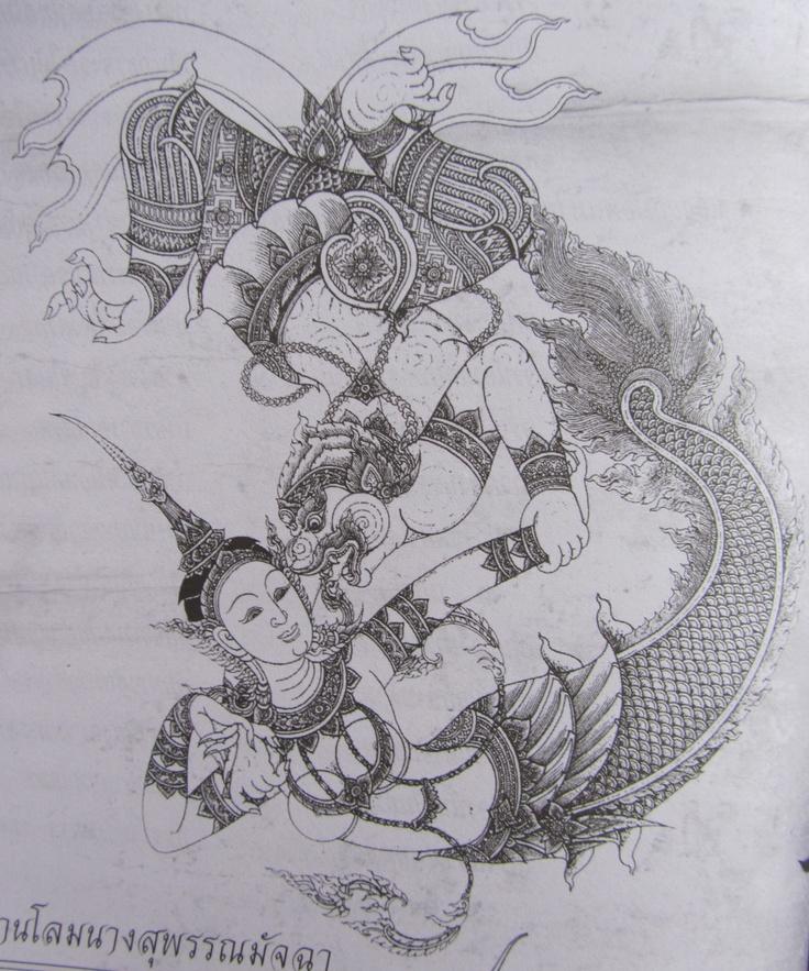 Thai Warrior Tattoos. LOVE