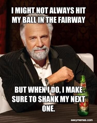 The most interesting man in the world talks golf...