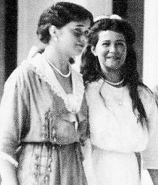 Olga and Maria Romanov Giggling!