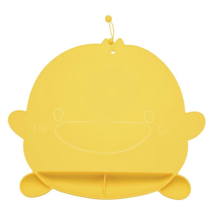 Piyo Piyo Foodie - Silicone Place Mat, Yellow