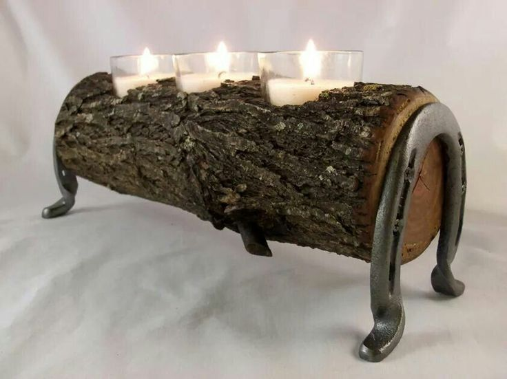 Best 25+ Log candle holders ideas on Pinterest | Logs ...