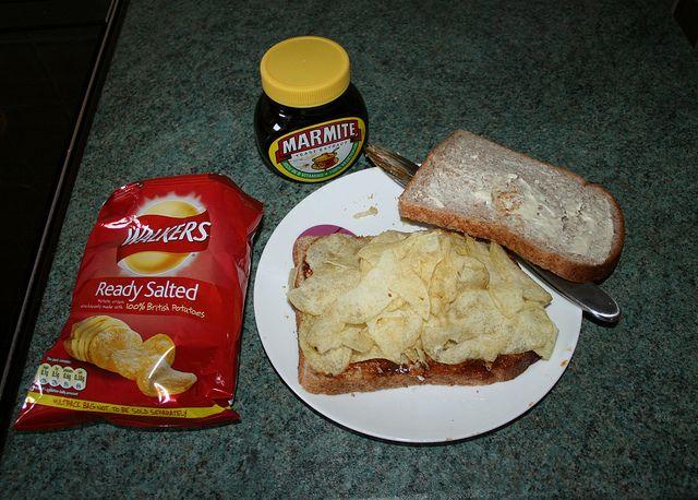 Marmite & Crisps Sandwich | Flickr - Photo Sharing!