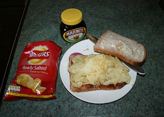 Marmite & Crisps Sandwich | Flickr - Photo Sharing!
