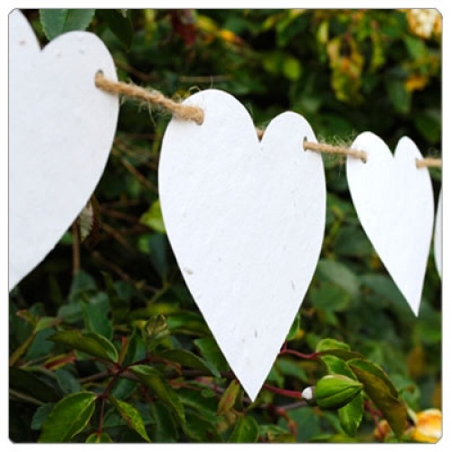 Wedding Heart Bunting