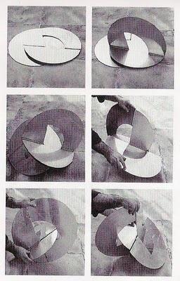 Lygia Clark: Projeto para um planeta, from the series Bichos (creatures),1963.