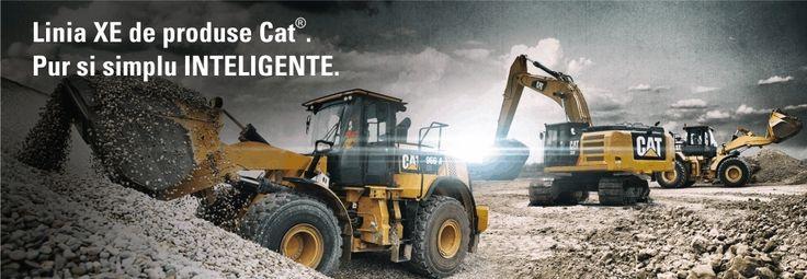Excavatoare pe senile Caterpillar - Bergerat Monnoyeur Romania. Solicita oferta online!