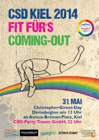 """""""Fit für´s Coming-out"""" 31.5. CSD Kiel 2014"""