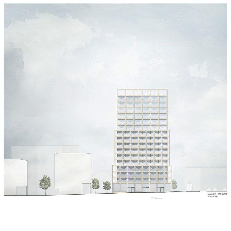 Tham & Videgård . Kv Hamnen 8 housing tower . Sundbyberg (12)
