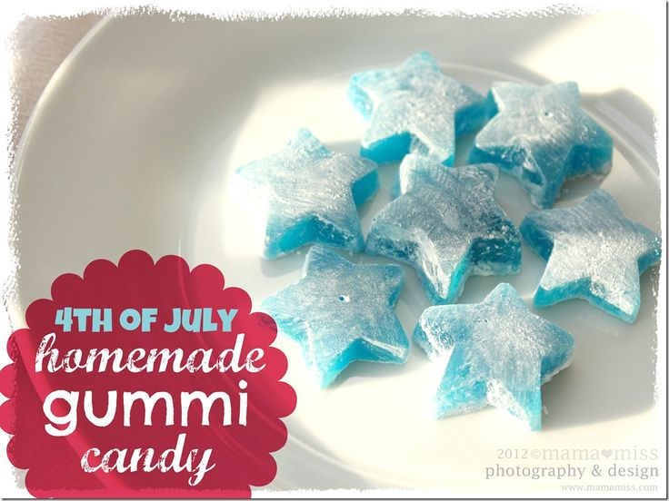 fun eats: 4th of July Homemade Gummi Candy - mama♥miss