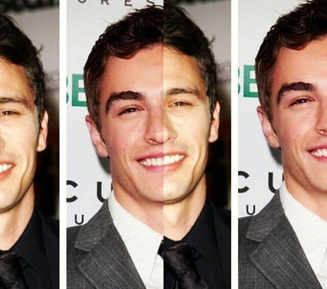 James and Dave Franco....