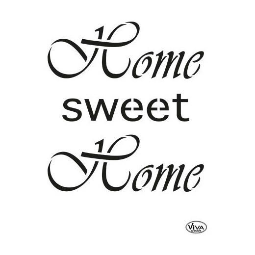 Viva Decor Universal Stencil - Home Sweet Home #316