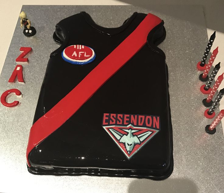 Bombers cake Essendon cake Dyson Heppell