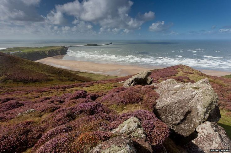 The Wales Coast Path is the world's first coastal path network to cover an entire country and stretches 870 miles (1400km) from the mouth of the River Dee in Flintshire all the way to Chepstow. Photographer Jeremy Moore has been photographing the Welsh coast for the past two years, and here he shares some of his pictures.