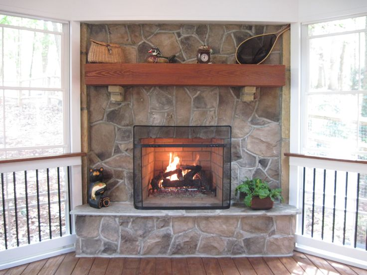 Outdoor Fireplaces | Outdoor Living Rooms In Charlotte With Stone Outdoor  Fireplaces .