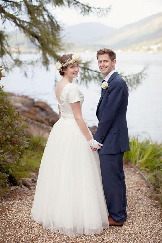 1950s Inspired Elegance for a Whimsical Scottish Lochside Wedding | Love My Dress® UK Wedding Blog