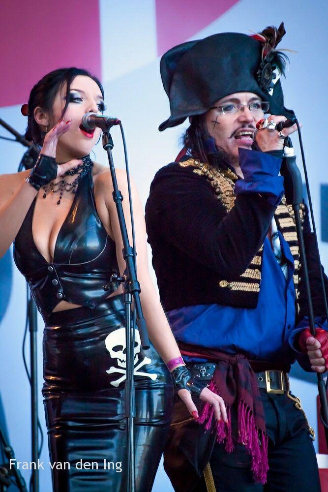 Adam Ant & Georgina Baillie