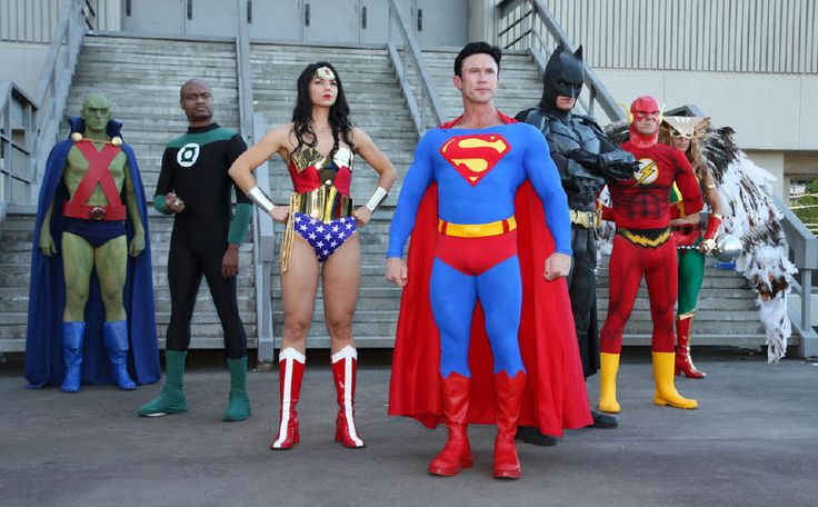 Justice League DC cosplay | Team Justice League Costumes ...