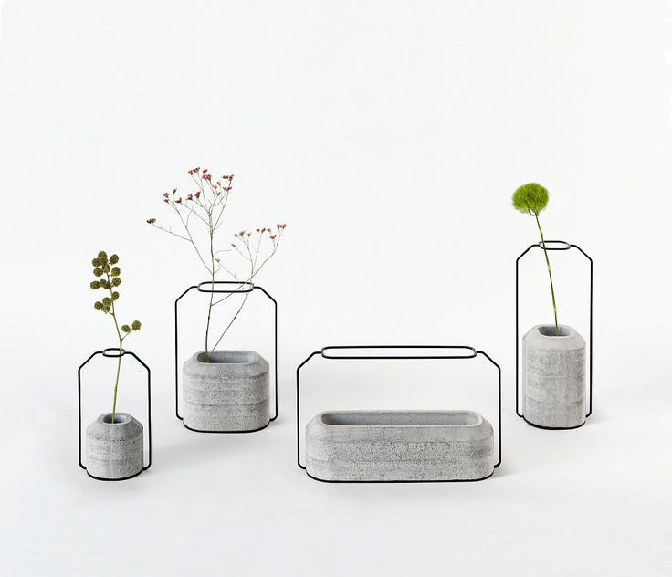 Barely-there vases