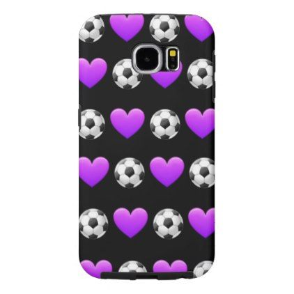 #Soccer Emoji Samsung Galaxy S6 Phone Case - #emoji #emojis #smiley #smilies