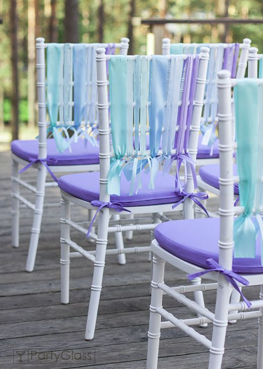 Wedding ceremony.Chiavari chair, lavanda | PartyGlass