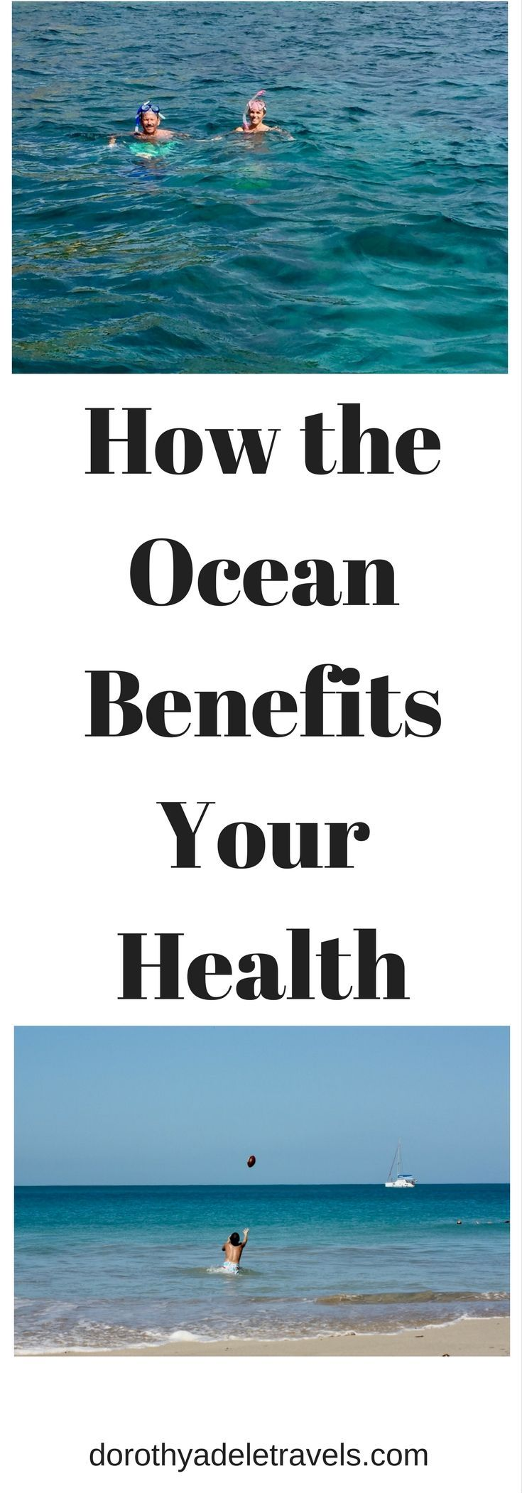 Ocean, Sea, Caribbean, Atlantic, Pacific, Health, Health Benefits, Activity, breathing sea air improves lung function, and seawater boosts mood and detoxifies, magnesium moisturizes and heals, vitamin D from the sun, shades of blue improve our mood