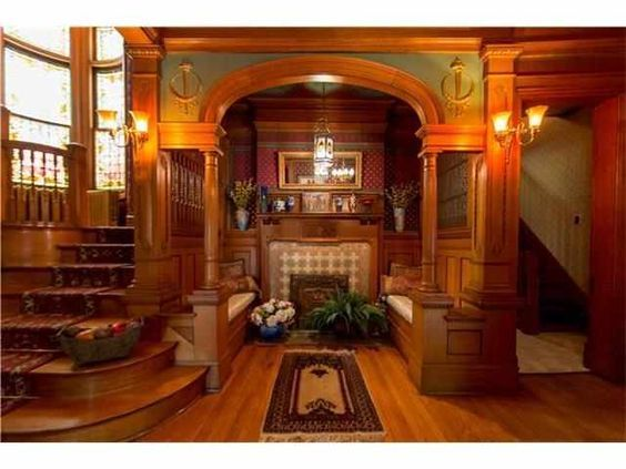 Stately All Brick Home With Carriage House Is Like Something Out Of The Historic Magazines 3 Beautiful Floors Living Space Front Back Staircase