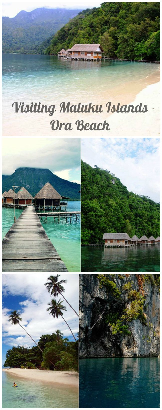 Visiting Maluku Islands Ora Beach