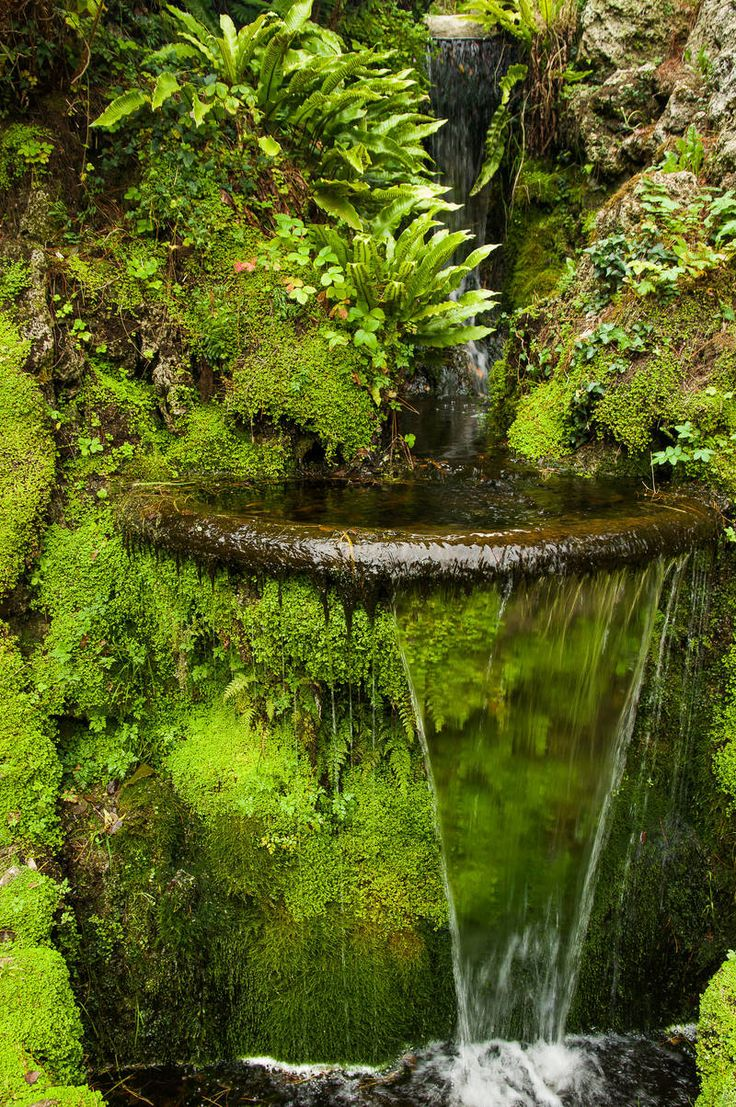 Powerscourt House and Gardens. Republic of Ireland by