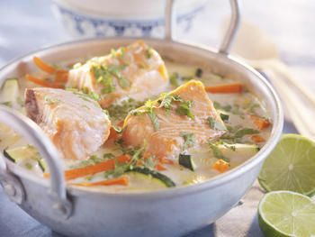 Азиатская рыбная запеканка