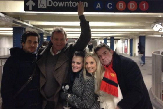 The Cast of Downton Abbey Rides the Subway! Love this times a million!!!