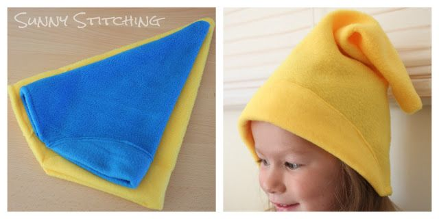 Sunny Stitching: Gnome Hat --7 dwarves