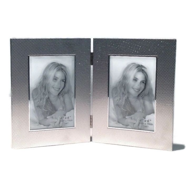 "Elegance Kaylene 4x6"" Double Photo Frame"