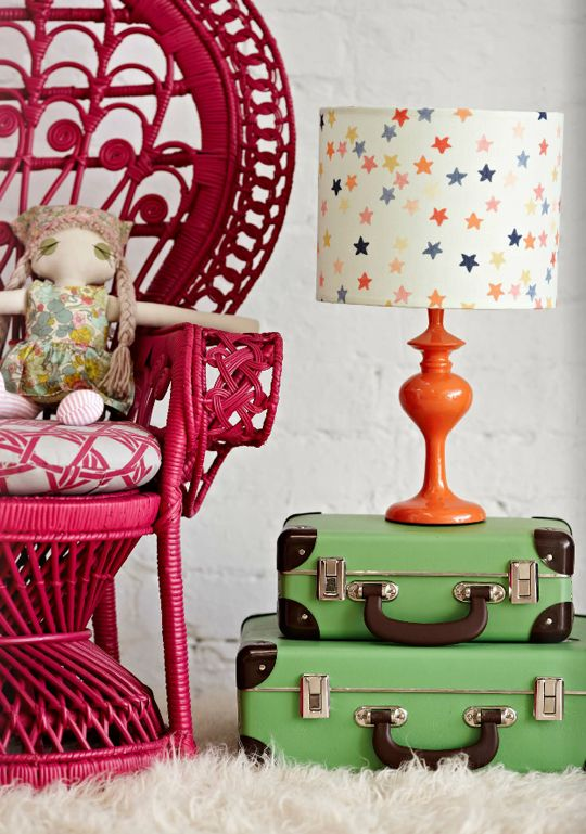Happy lamps by retro print revival