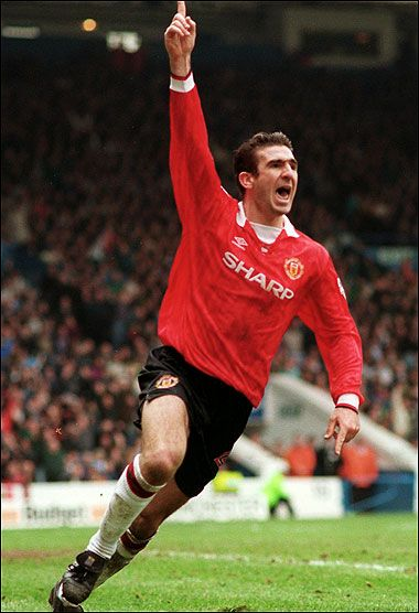 Eric Cantona at Maine Road