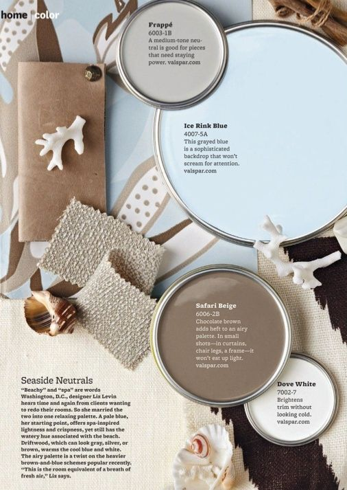 Color scheme for the bedroom I like the taupe almost could be gray and brown, but need something different to help it pop. something other then baby blue by roxycrafts