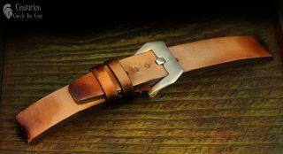 Curele de ceas, din piele, handmade. Topouzelli Straps.: Curea de ceas handmade, T 886