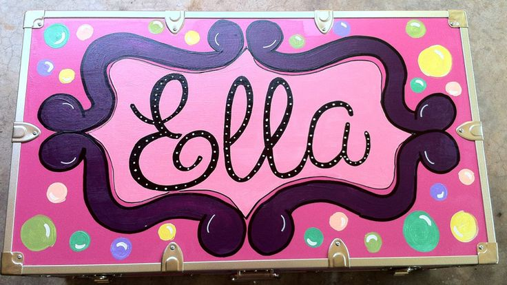personalized gifts, hand painted, holiday, styrofoam cups, camp trunks