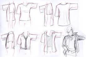 como dibujar ropa anime - Buscar con Google