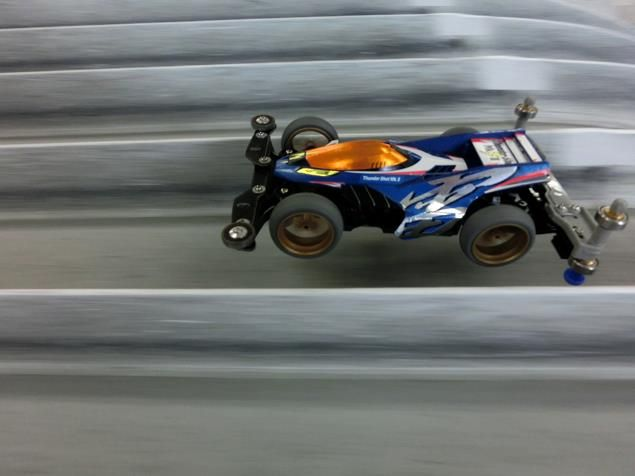 Thunder Shot Jump | Mini 4WD Tamiya Marukai Pacific Market Gardena / Los Angeles Beautiful Southern California USA 310-464-8888