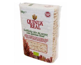 SOFFIETTE DE ARROZ COM QUINOA REAL 130g - Mercearia - Snacks - Tostas e crackers - Amorbio