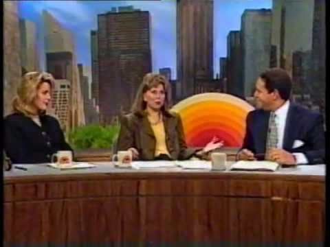 Deborah Norville , Jane Pauley and Bryant Gumbel on the Today Show