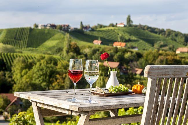 Wein und Genuss in der Steiermark © Steiermark Tourismus, ikarus.cc