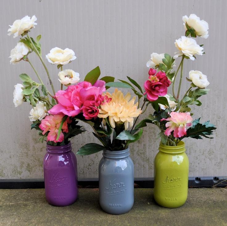 winter wedding centerpieces mason jars wwwimgkidcom