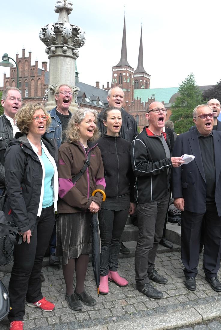 Swinging and singing Roskilde